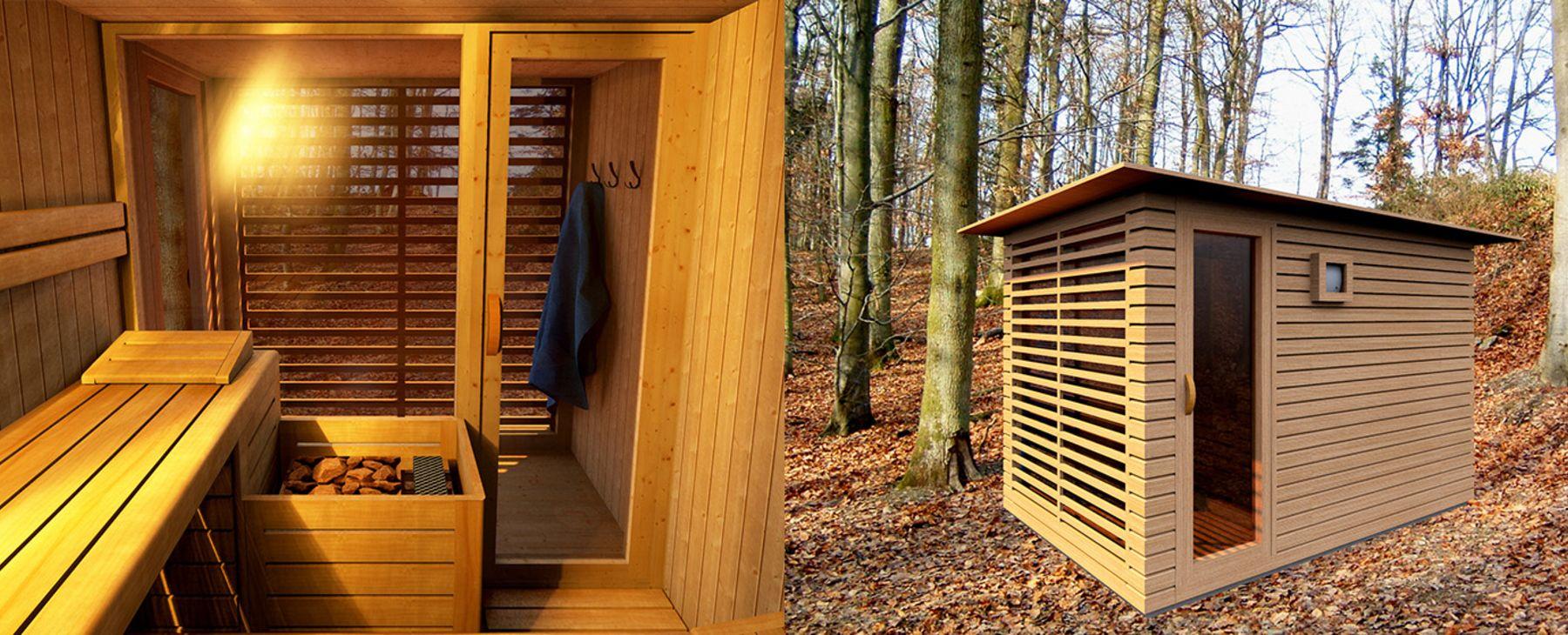 sauna schaller fotorealistische 3 d planung. Black Bedroom Furniture Sets. Home Design Ideas