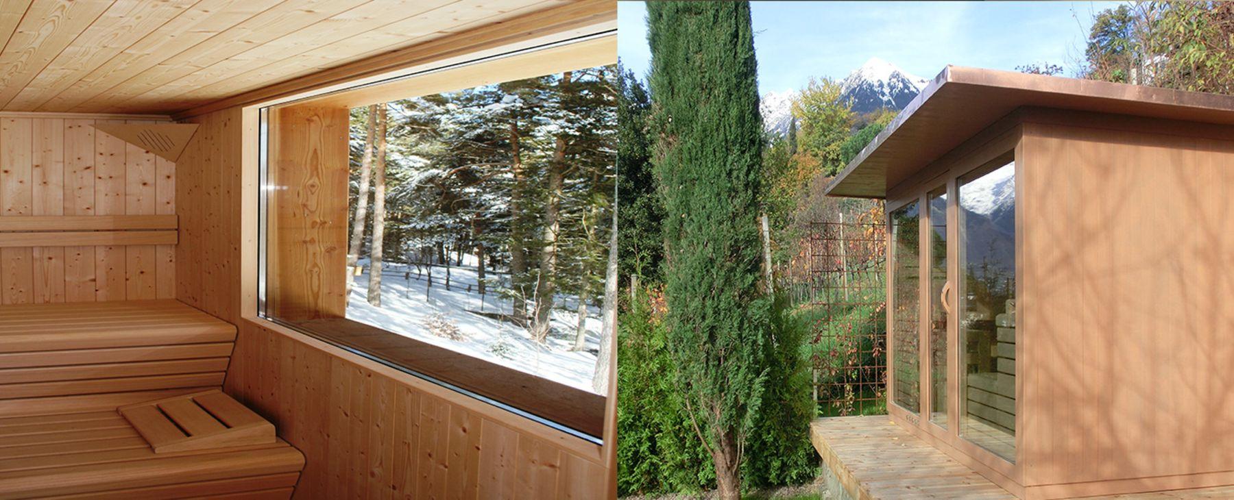 sauna schaller aussensauna aus s dtirol. Black Bedroom Furniture Sets. Home Design Ideas