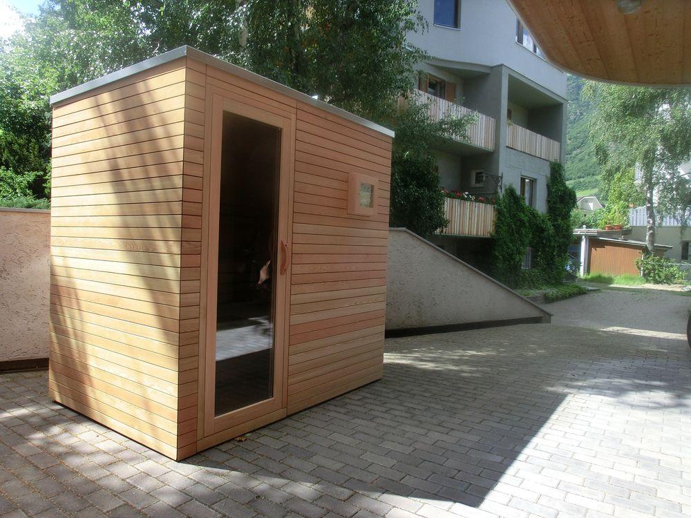 Sauna schaller sauna all 39 esterno da alto adige - Sauna da esterno ...